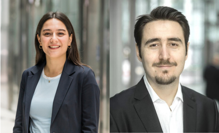Headshots of Sidika Tunc Candogan and Ersin Korpeoglu